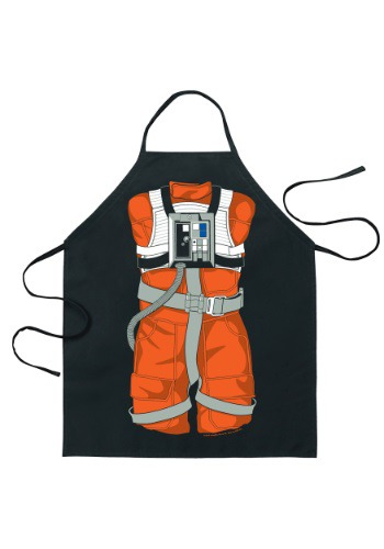 Star Wars Luke Skywalker X-Wing Pilot Character Apron ICU08686