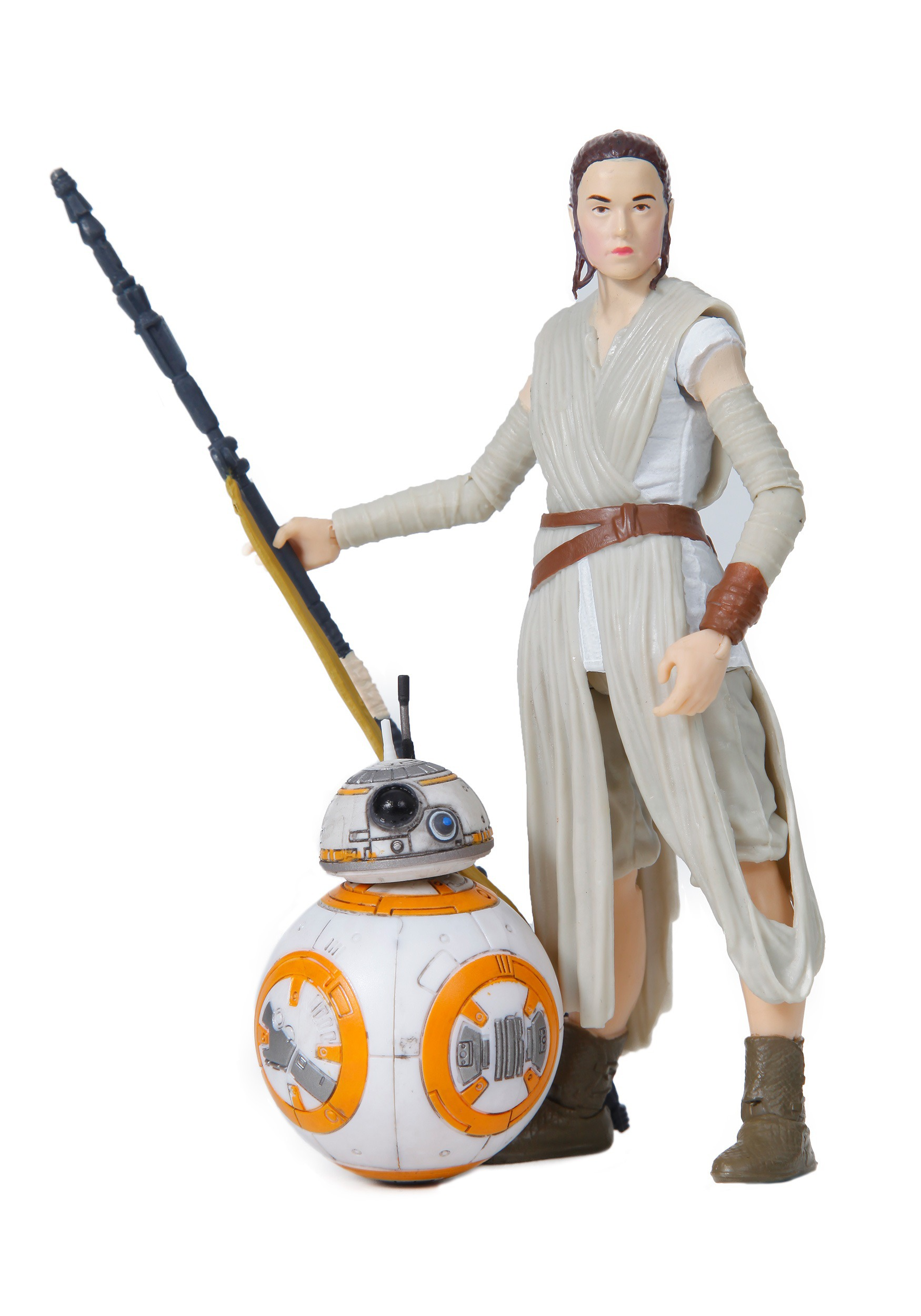Star Wars The Force Awakens Rey and BB8 Black Series Set EEDB3836
