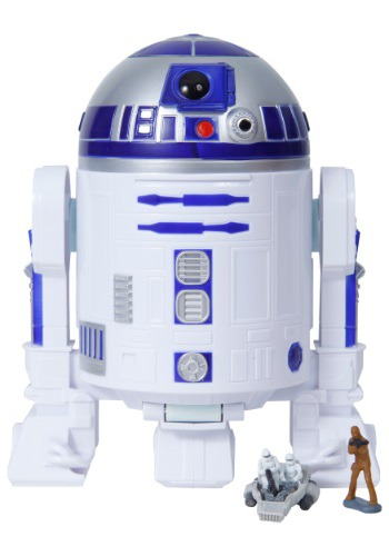 Star Wars Episode VII Force Awakens R2 D2 Micro Machines Play Set
