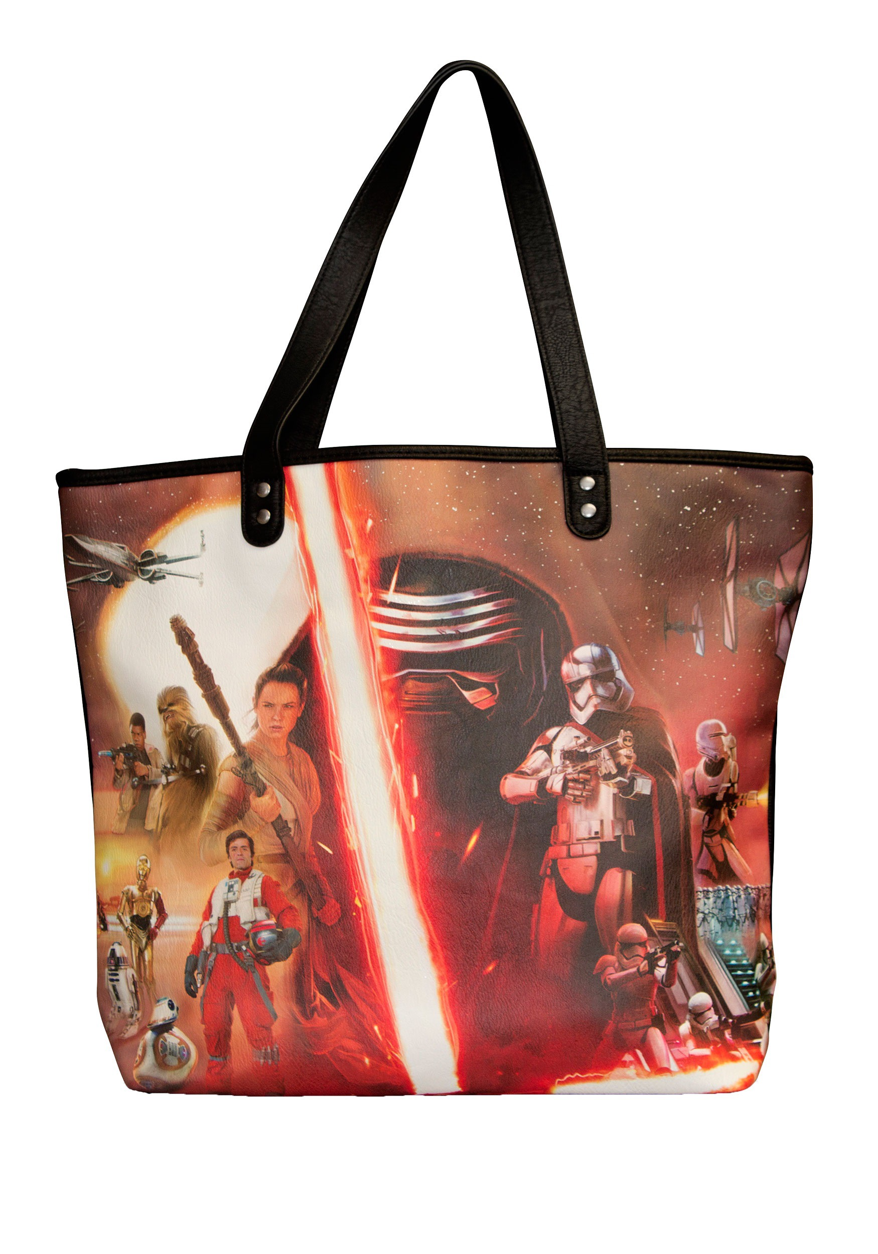 Loungefly Star Wars Episode 7 The Force Awakens Photo Tote Bag