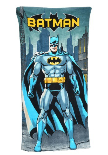 Batman in City Beach Towel