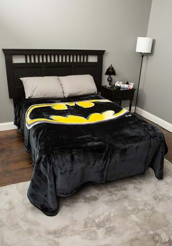Batman Logo Queen Blanket