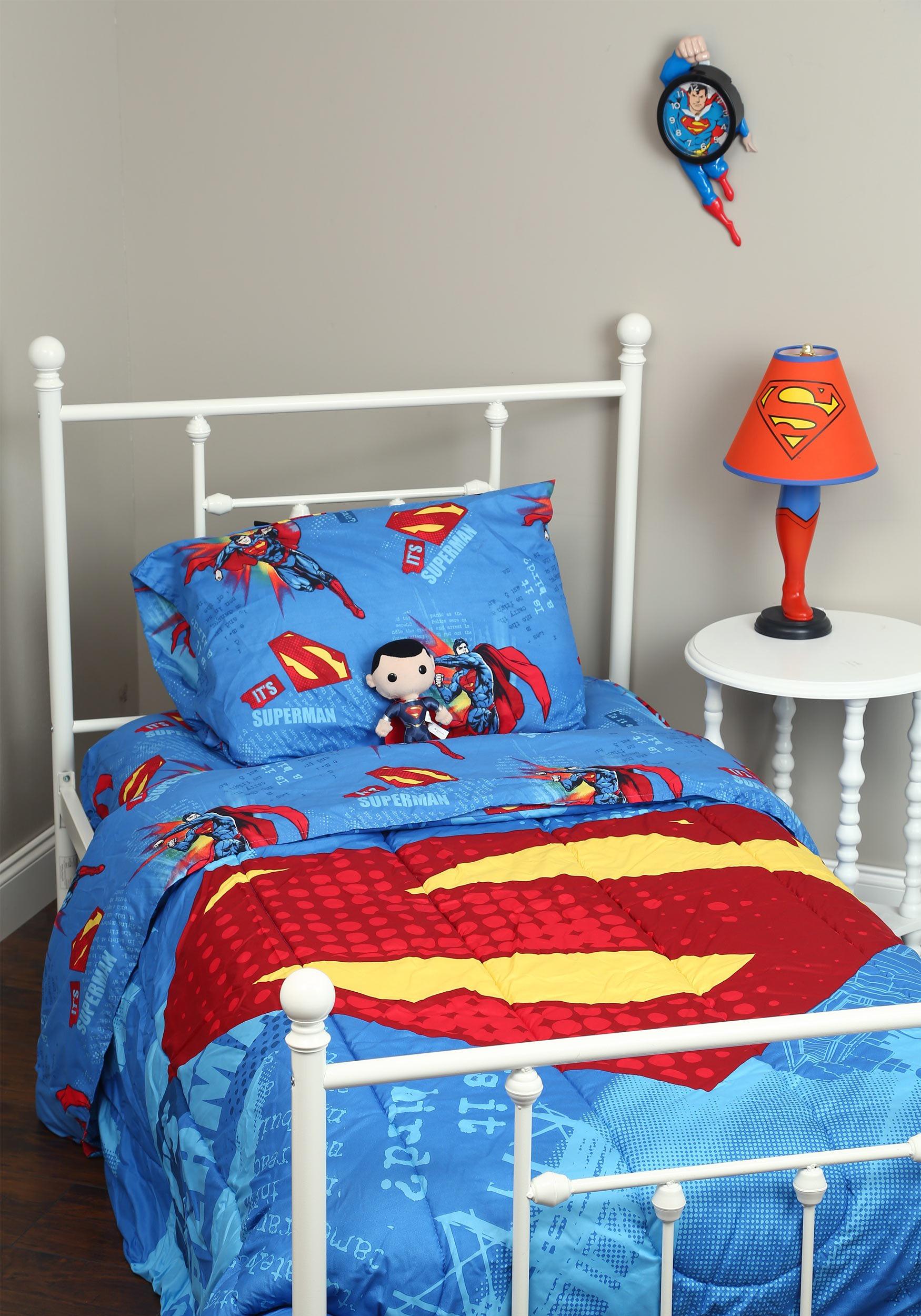 Superman Full Size Bedding Set