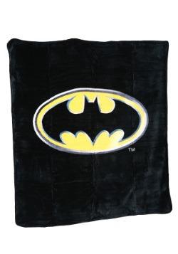 Batman Logo Plush Throw