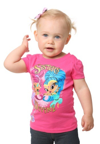 Shimmer & Shine Sisters Divine Girls T-Shirt