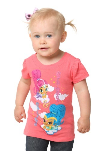 Shimmer & Shine Magic Carpet Ride Girls Shirt