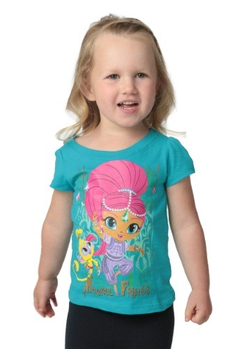 Girls This Shimmer & Shine Magical Friends T-Shirt