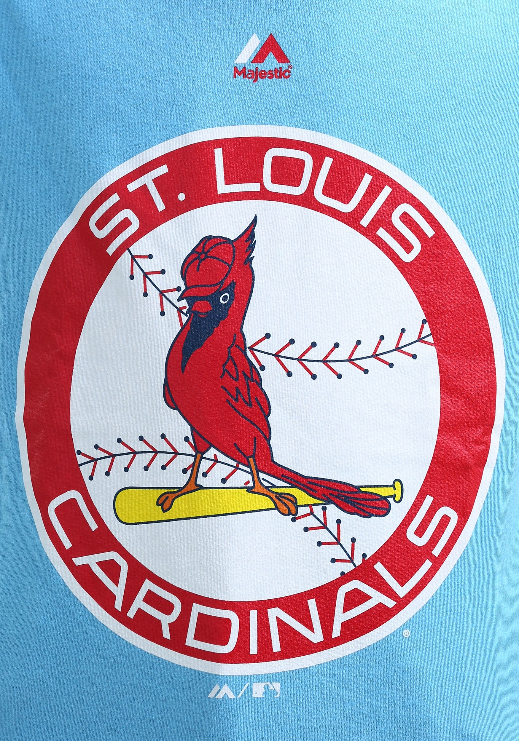 St Louis Cardinals Cooperstown Logo T Shirt For Kids