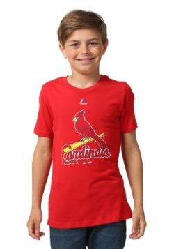 St. Louis Cardinals Primary Logo Kids Shirt