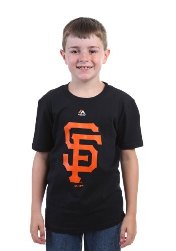 San Francisco Giants Primary Logo Boys T-Shirt