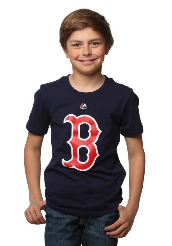 Boston Red Sox Primary Logo Kids Shirt