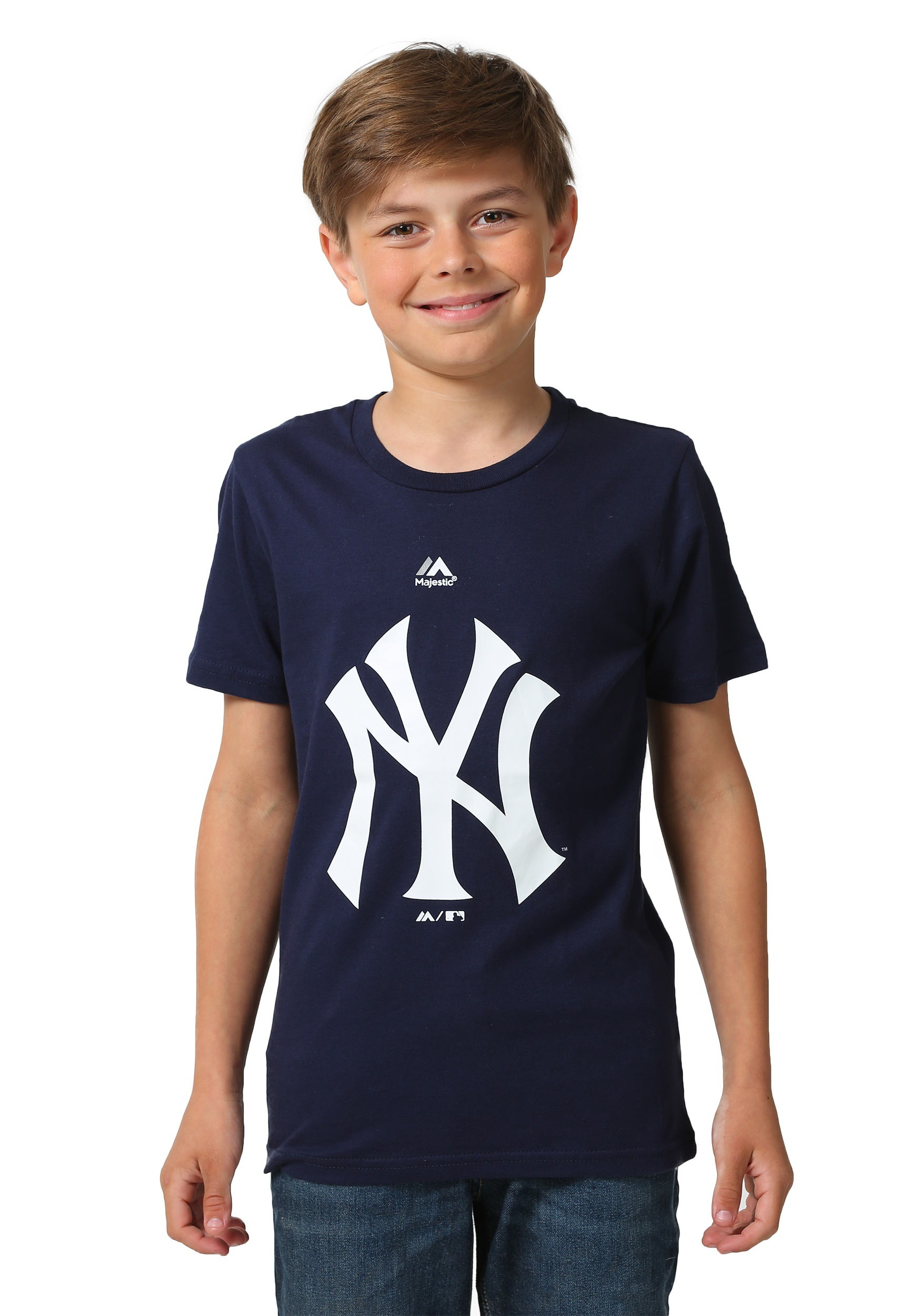 the latest 1abf4 a1597 New York Yankees Primary Logo Kids Shirt