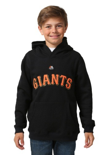 San Francisco Giants Wordmark Fleece Kids Hooded Sweatshirt