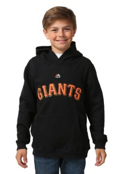 San Francisco Giants Wordmark Fleece Kids Hooded Sweatshirt