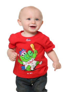 Philadelphia Phillies Baby Mascot T-Shirt