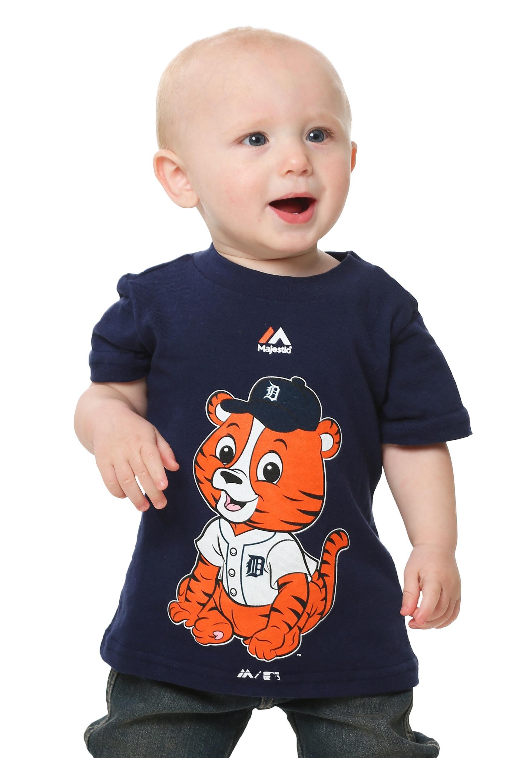 Detroit Tigers Baby Mascot Infant T Shirt