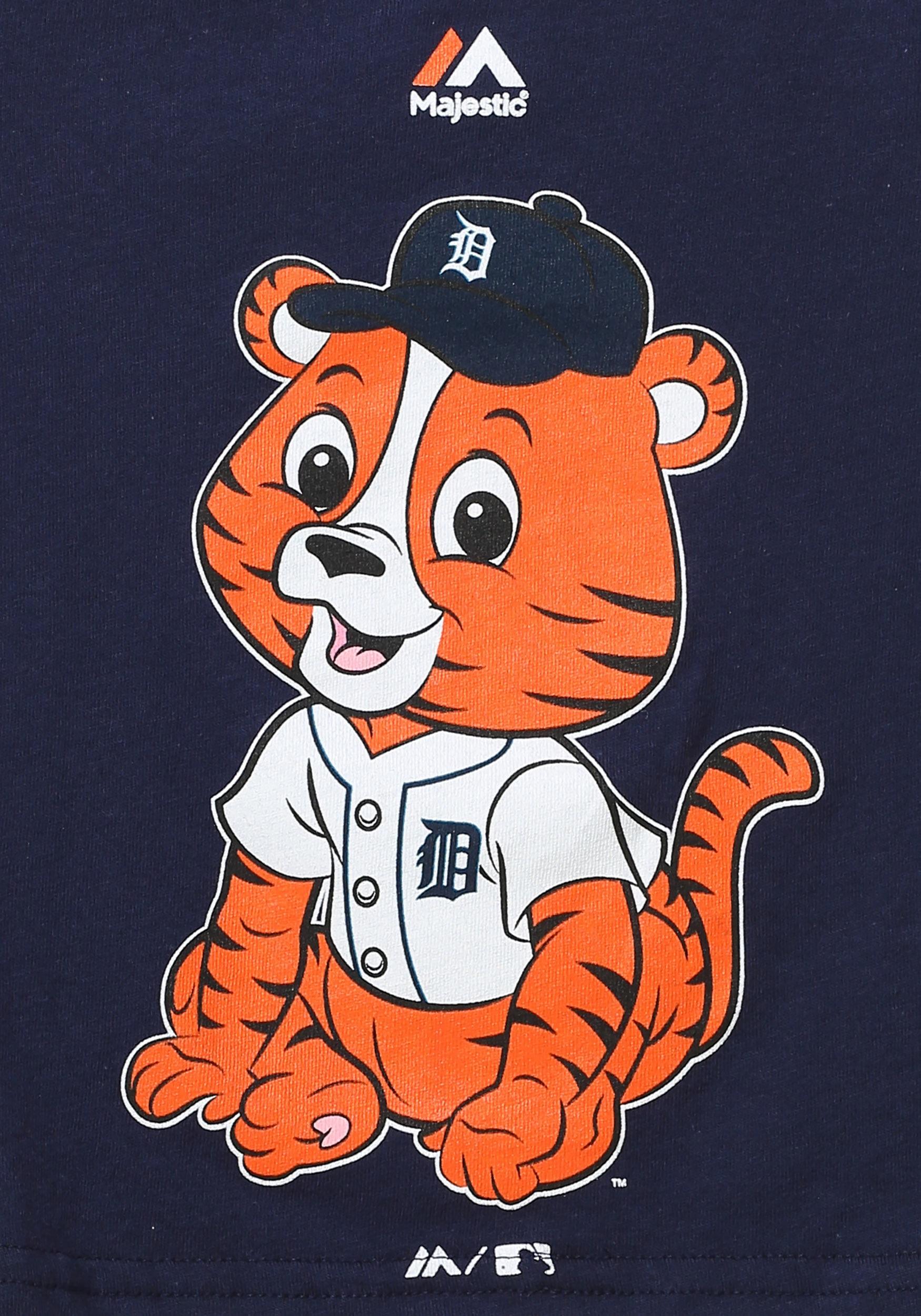 professional sale 58b49 bb96b Detroit Tigers Baby Mascot Infant T-Shirt