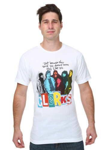 Clerks Poster Mens T-Shirt