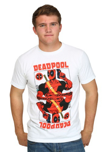 Deadpool Wild Card T-Shirt