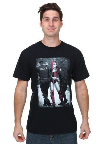 Harley Quinn Arrest Mens T-Shirt