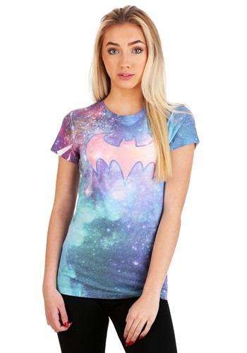 Batgirl Shielded Galaxy Juniors T-Shirt