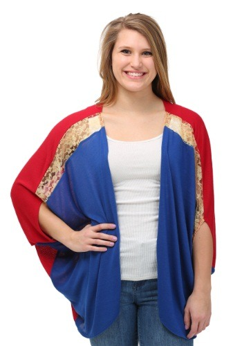 Captain Marvel Women's Dolman Shrug