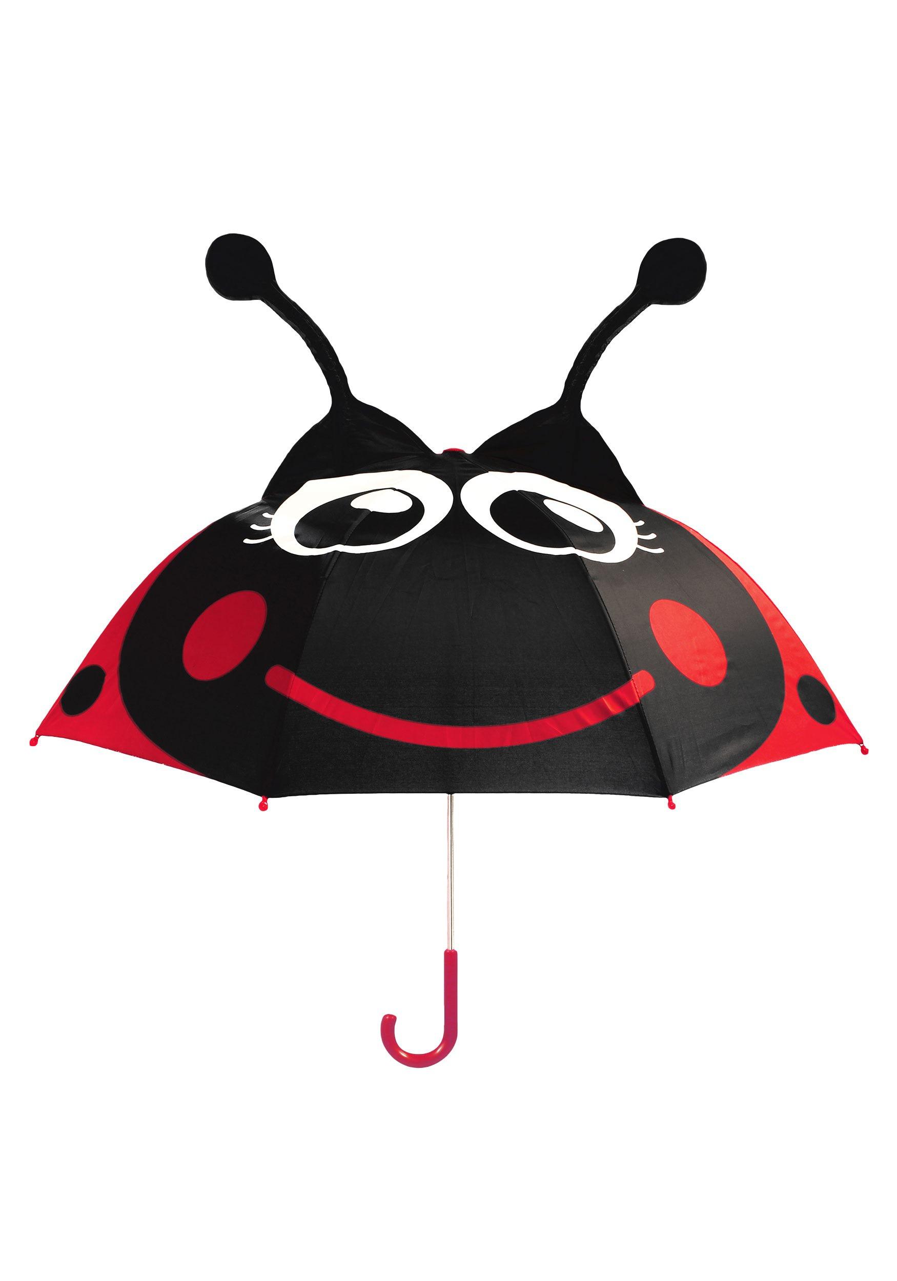 red ladybug umbrella