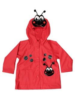 Red Ladybug Child Raincoat