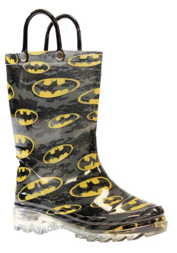 Batman Child Light Up Rainboots