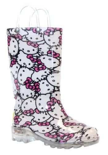 Hello Kitty Child Light Up Rainboots