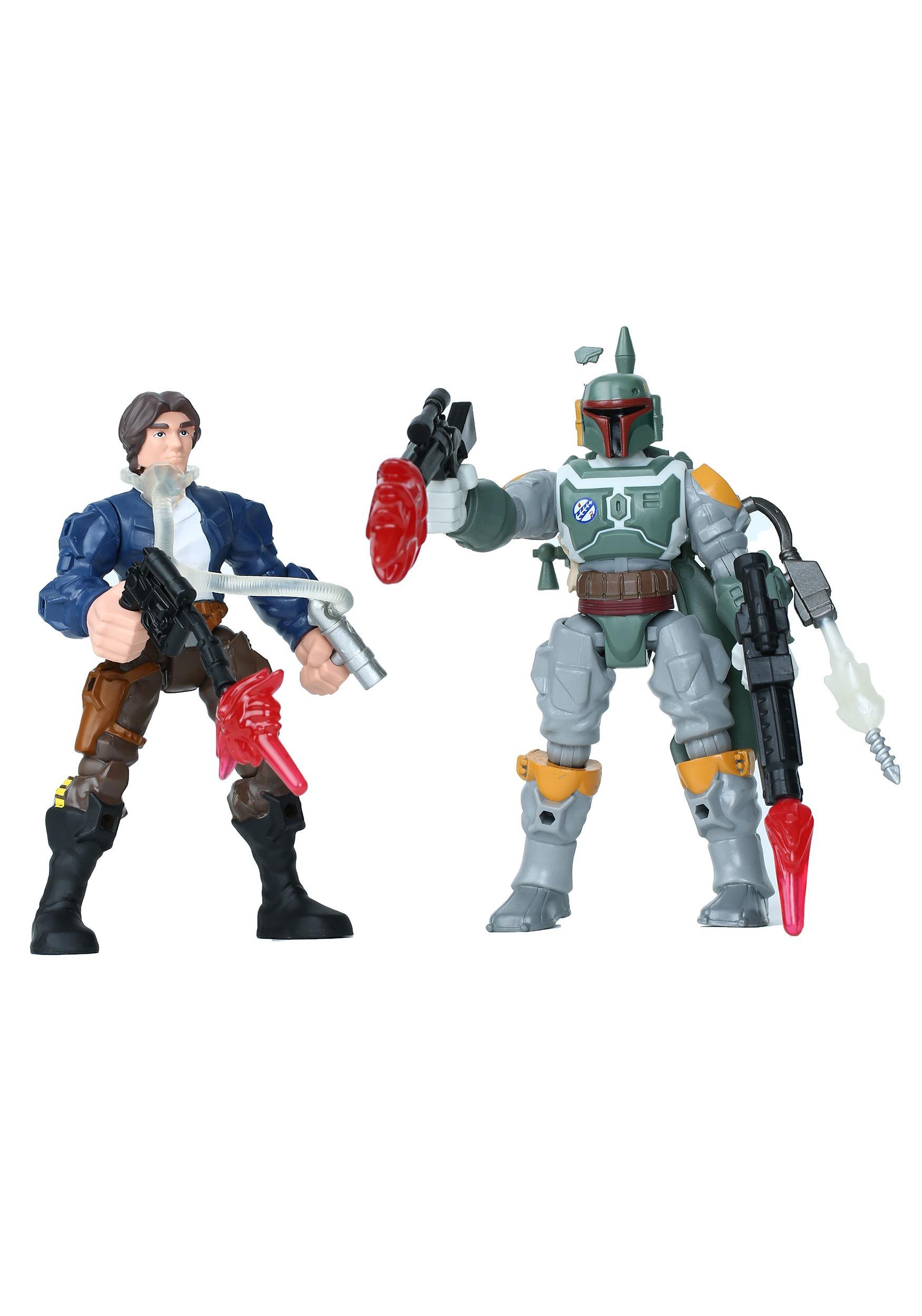 Star Wars Hero Mashers Han Solo vs. Boba Fett EEDHANFETT