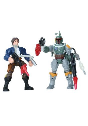 Star Wars Hero Mashers Han Solo vs. Boba Fett EEDHANFETT-ST