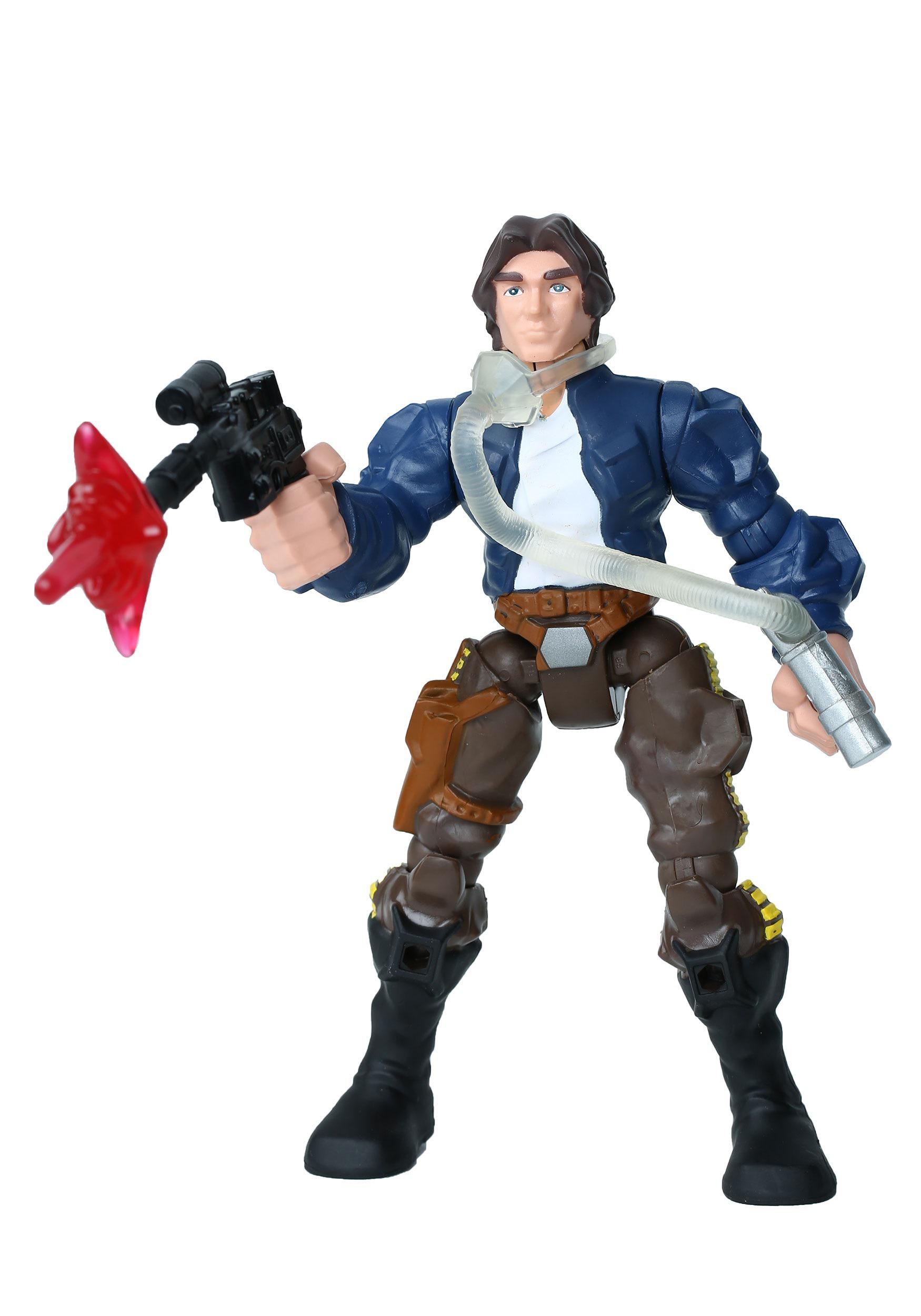 Star Wars Hero Mashers Han Solo Vs Boba Fett-6531