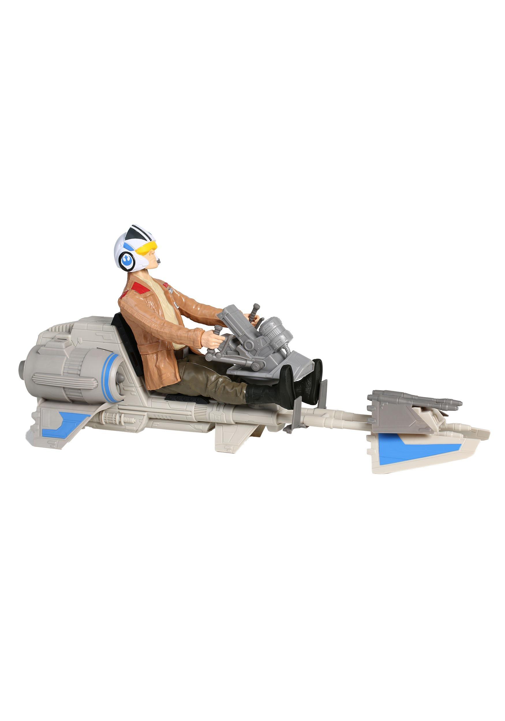 Star Wars Episode 7 Speeder Bike with Poe Dameron Figure EEDSPEEDERPOE