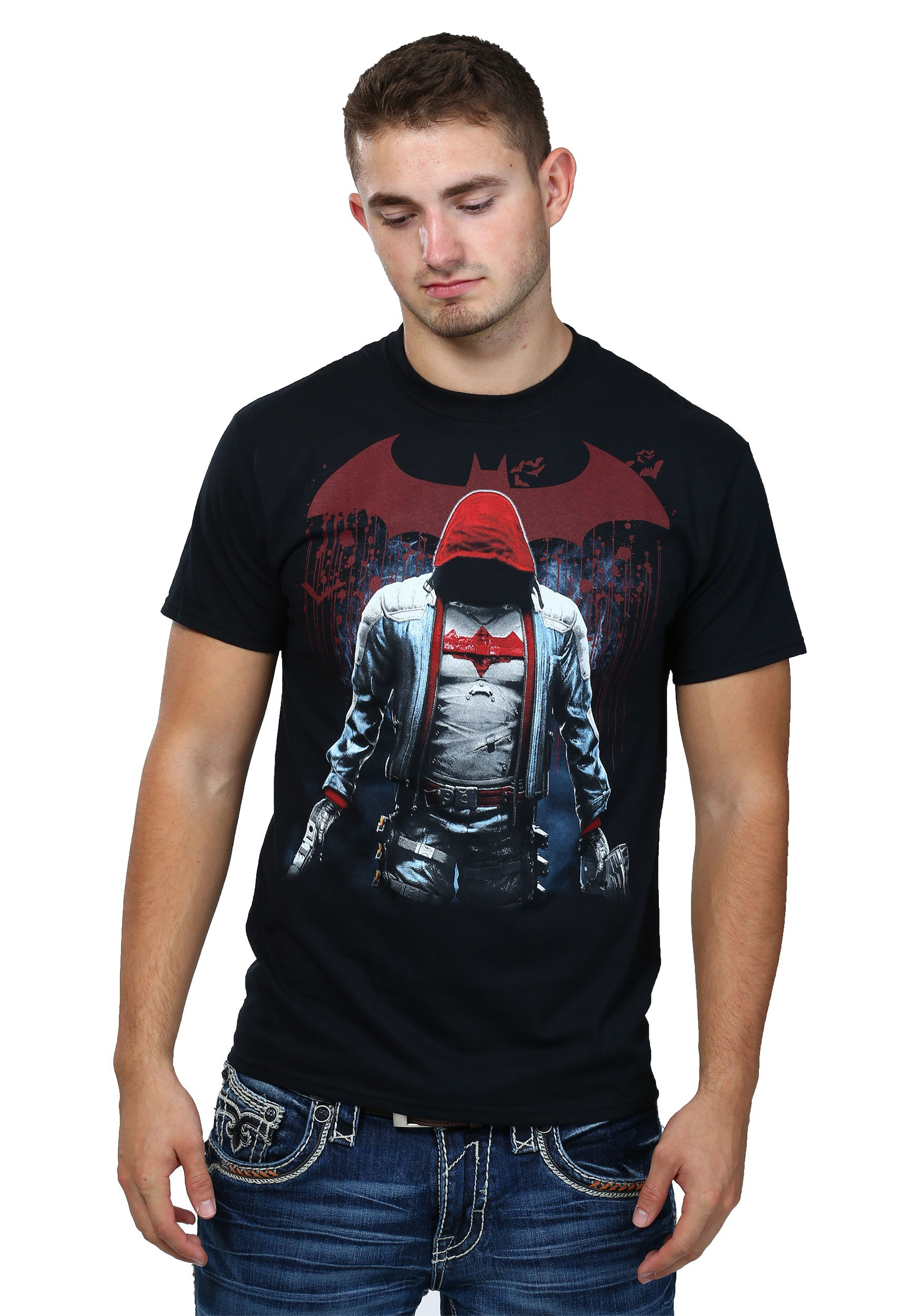 Batman Arkham Knight Red Hood T-Shirt CG48301E91