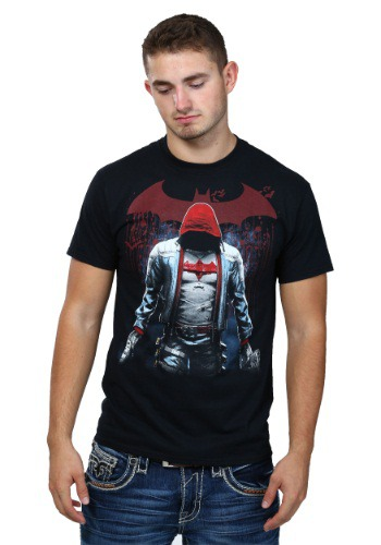 Batman Arkham Knight Red Hood T-Shirt CG48301E91-S