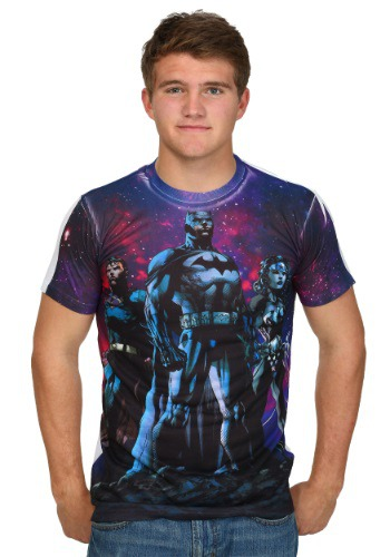 Justice League Galaxy Sublimated T-Shirt
