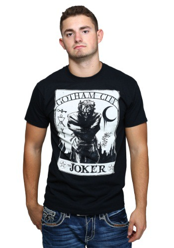 The Joker Tarot Style Mens T-Shirt
