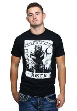 The Joker Tarot Style Mens T-Shirt