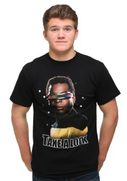 Star Trek Take A Look Men's T-Shirt