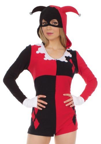 Women's Harley Quinn Romper