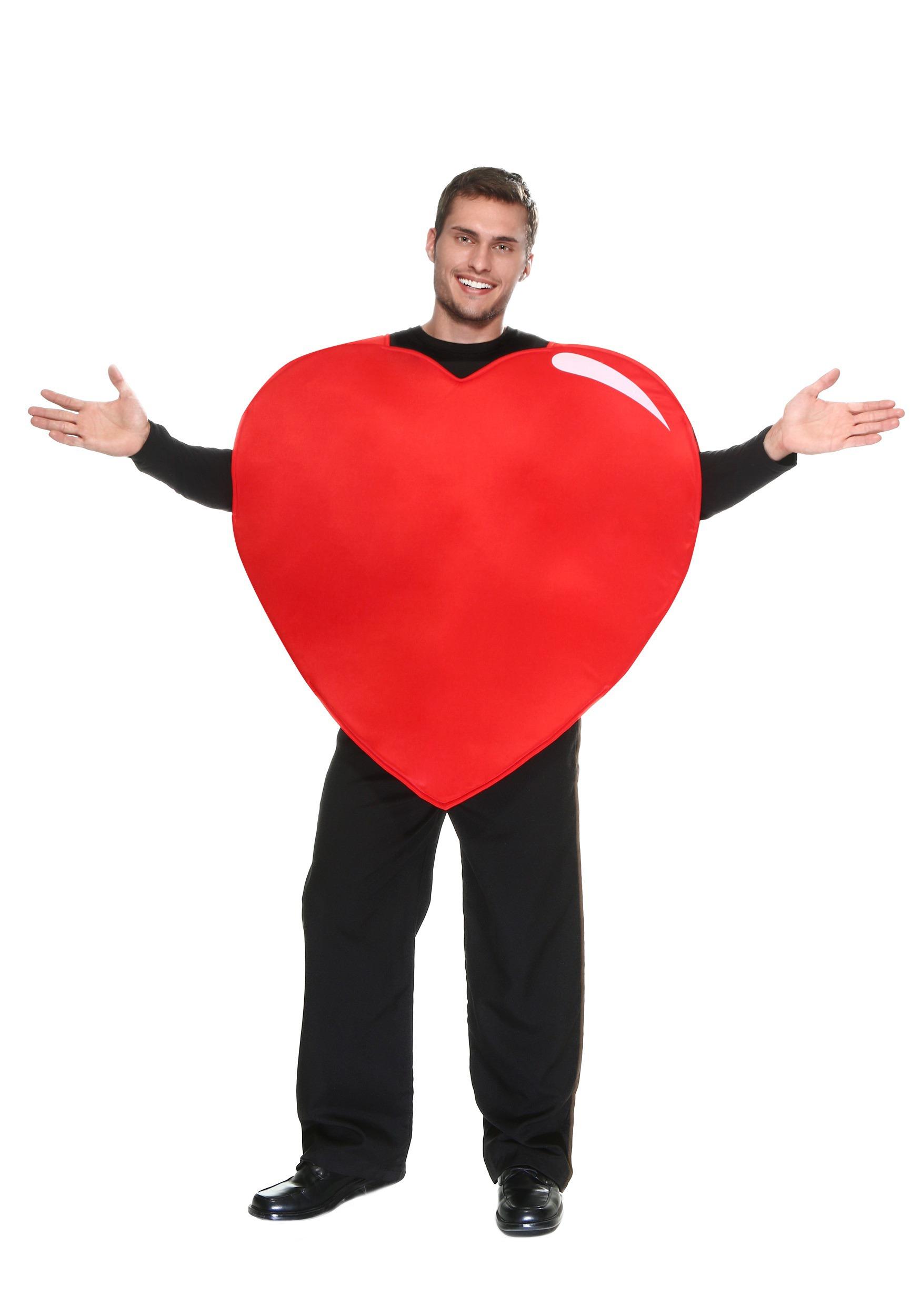 Adult Giant Heart Costume