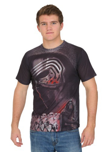 Star Wars Episode 7 Kylo Ren Sublimation T-Shirt