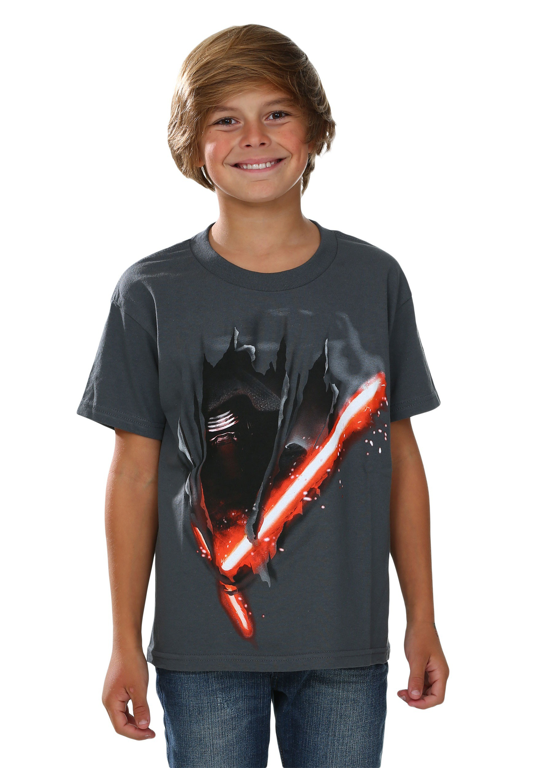 star wars episode 7 kylo cut boys t shirt. Black Bedroom Furniture Sets. Home Design Ideas