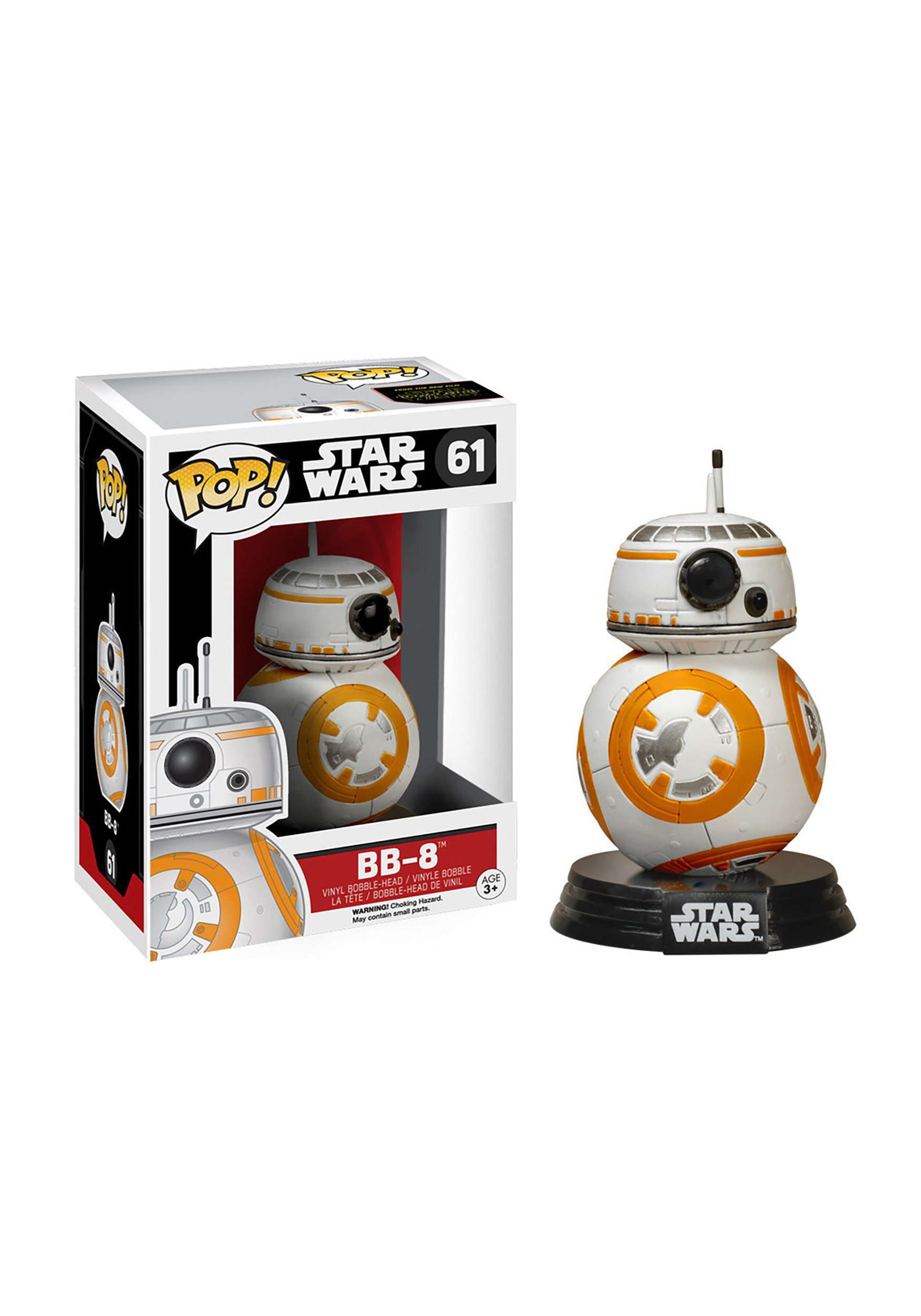 POP! Star Wars The Force Awakens BB8 Bobblehead Figure FN6218