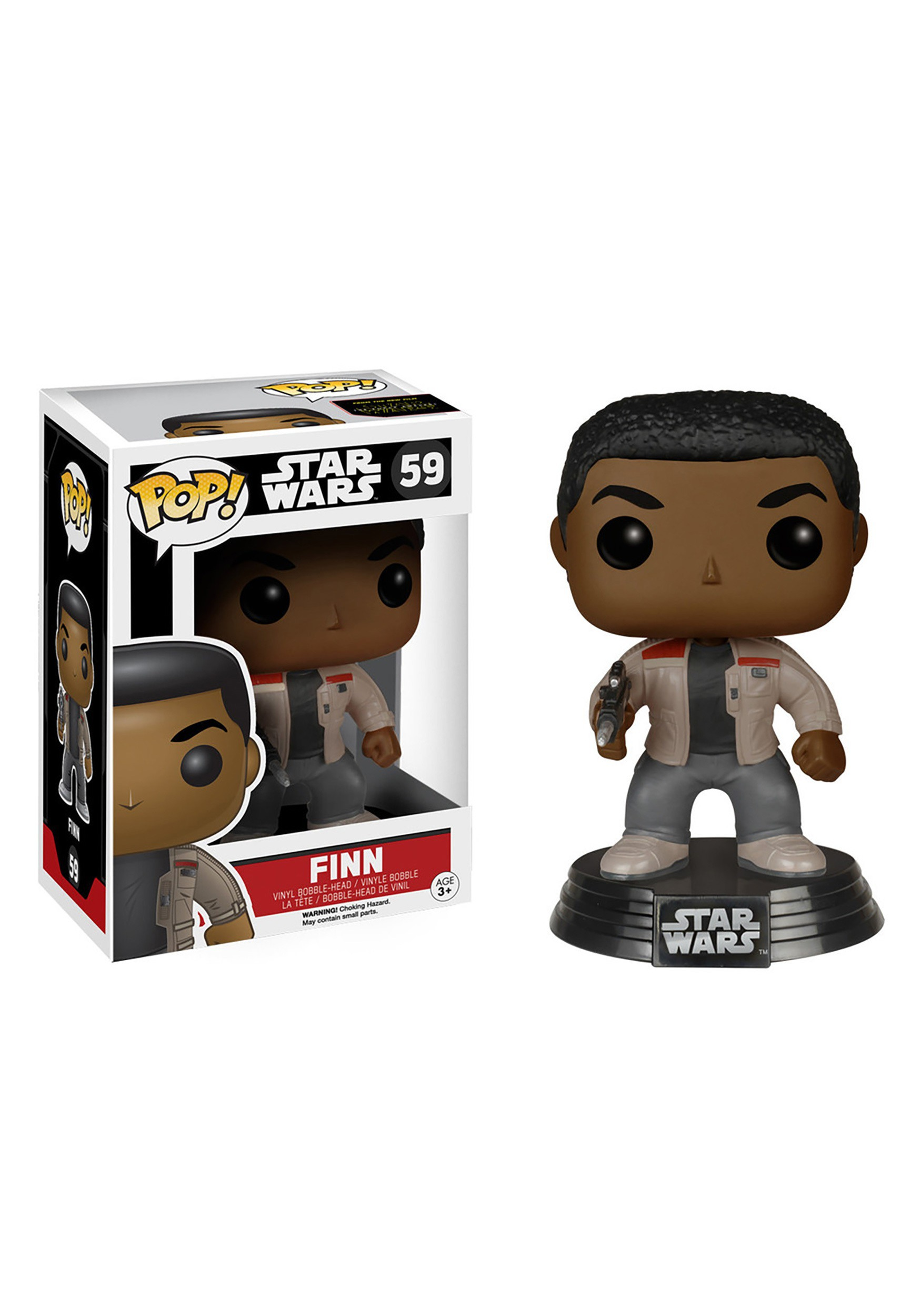 POP! Star Wars E7 Finn Bobblehead Figure FN6221