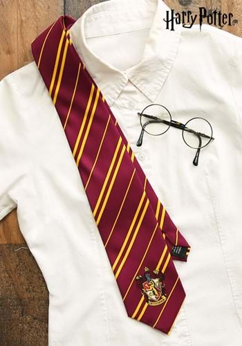 Harry Potter Gryffindor Silk Tie for Adults update