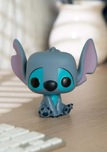 POP! Disney Seated Stitch Vinyl Figure