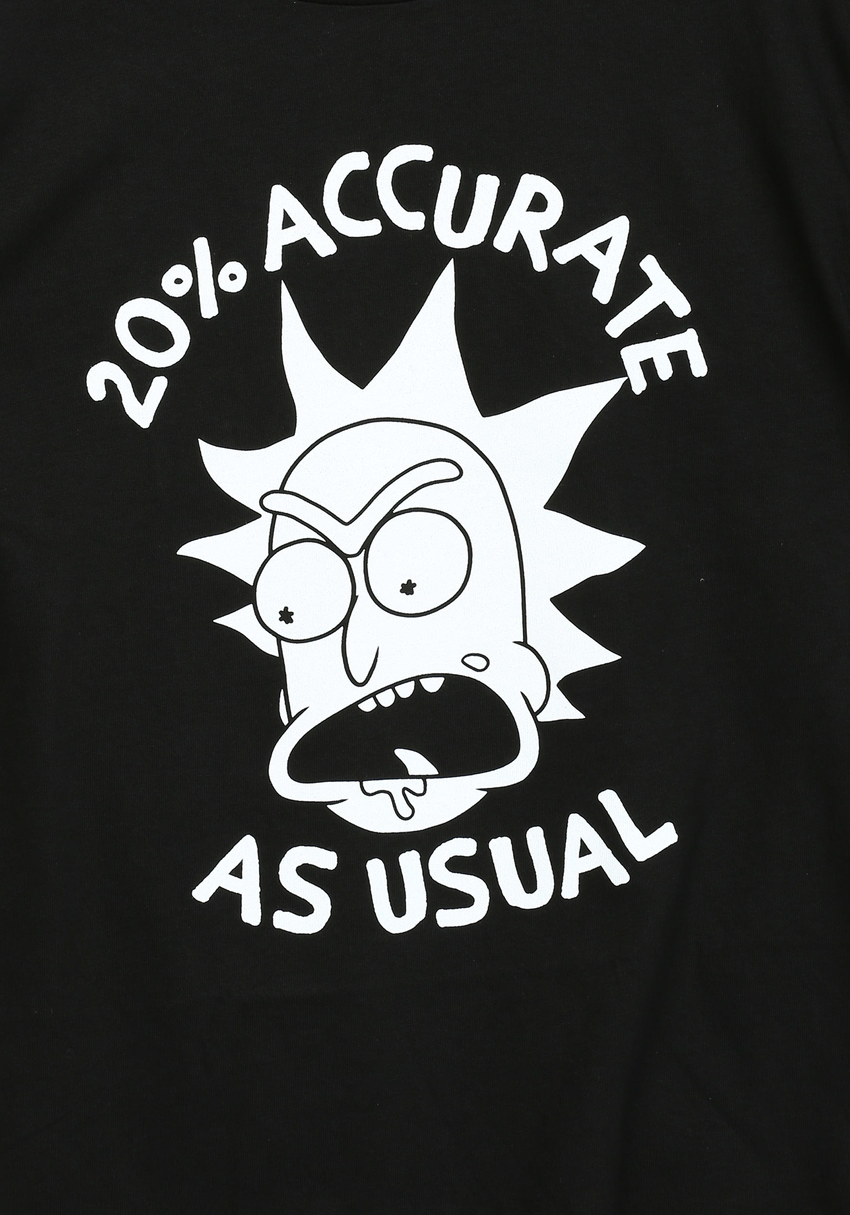 Rick And Morty 20 Percent Accurate T Shirt