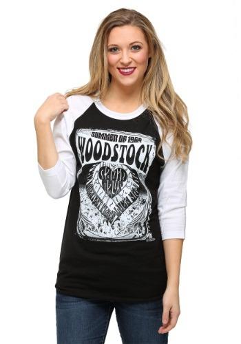 Woodstock Summer of '69 Juniors Raglan Shirt